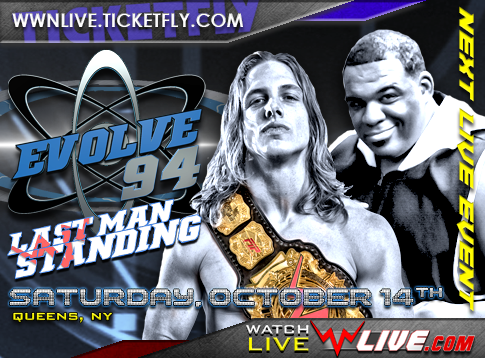 EVOLVE 94 Tonight At La Boom And Streaming Live On WWNLive.com!