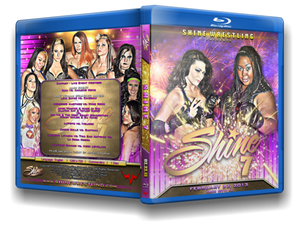 Shine 7 Blu Ray cover
