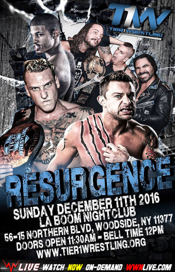 Tier 1 Wrestling - Resurgence
