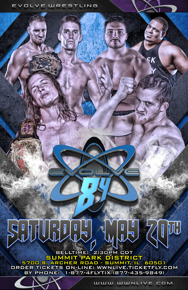 EVOLVE 84 In Chicago This Afternoon!