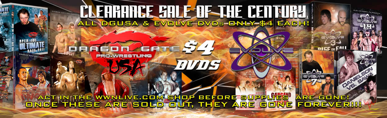 Don't Miss Out On The WWN DVD Clearance Sale!