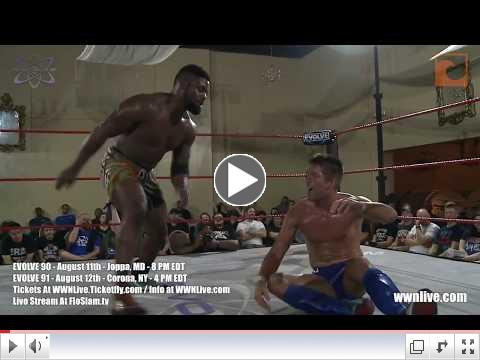 EVOLVE 89 Recap: Keith Lee Wants To Speak And Match Highlights