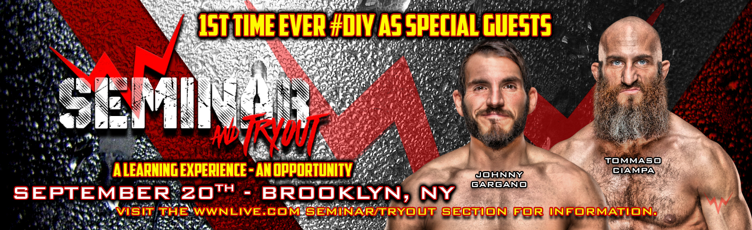 Brooklyn WWN Seminar/Tryout Almost Sold Out - Sept 20th