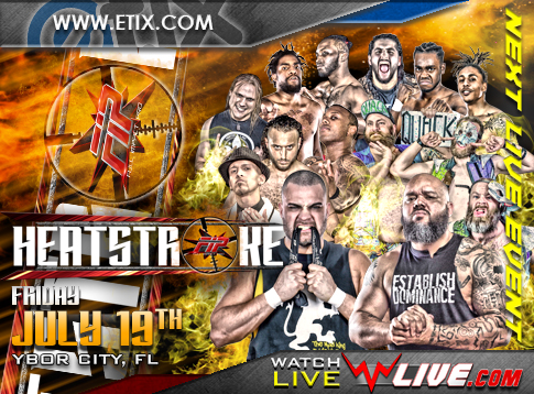 Full FIP Heastroke 2019 Card Announced -- Even This Friday July 19th!