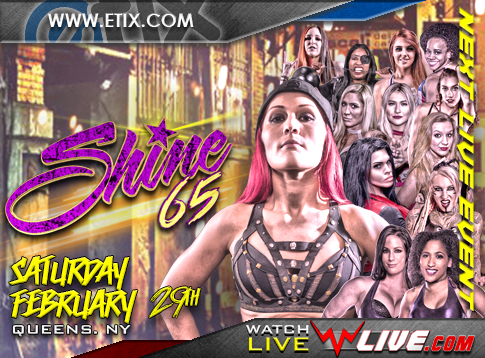 Watch SHINE 65:  QUEENS, NY 2020 2/29/20