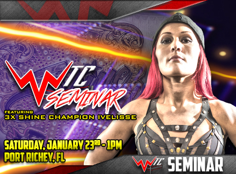 Seminar with SHINE Champion Ivelisse hosted by the WWN Training Center!