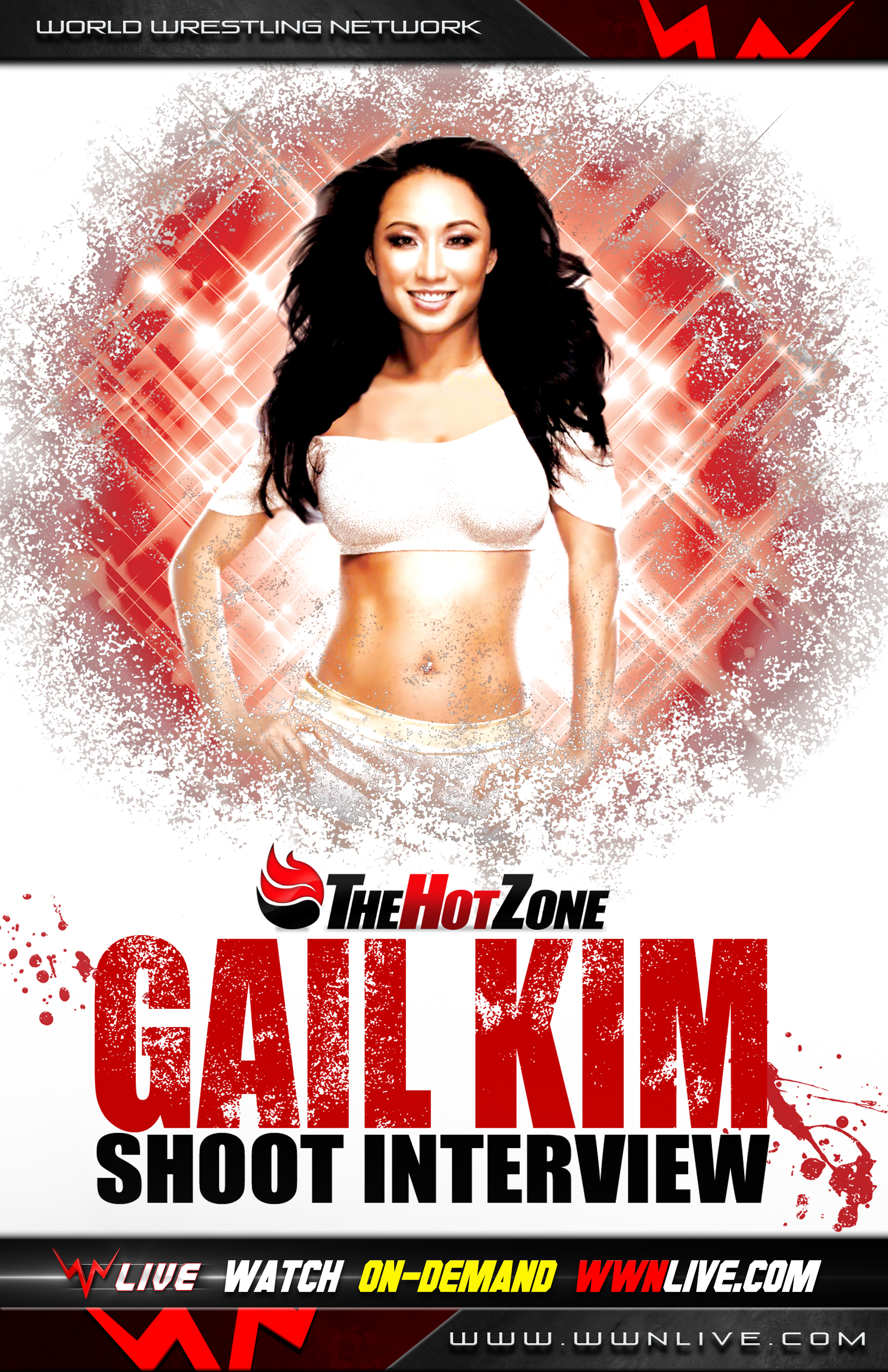 Gail Kim Hot Images the hot zone with gail kim - on demand - wwnlive