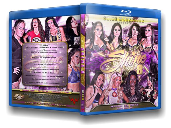 Shine 8 Blu Ray cover