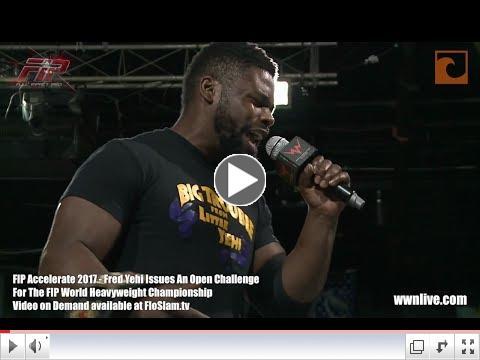 Fred Yehi Responds To Joey Janela Thumbnail