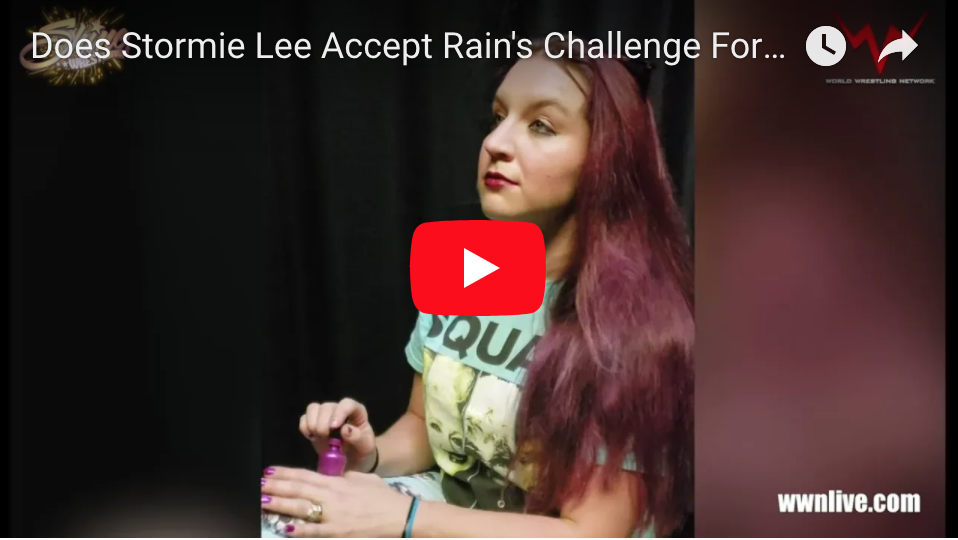 Does Stormie Lee Accept Rain's Challenge For SHINE 51?