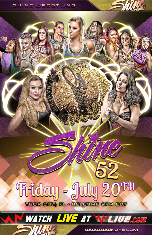 SHINE 52 Tonight!