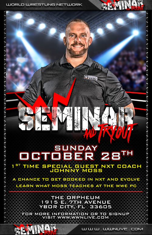 First-Time-Ever WWN Seminar/Tryout With NXT Coach