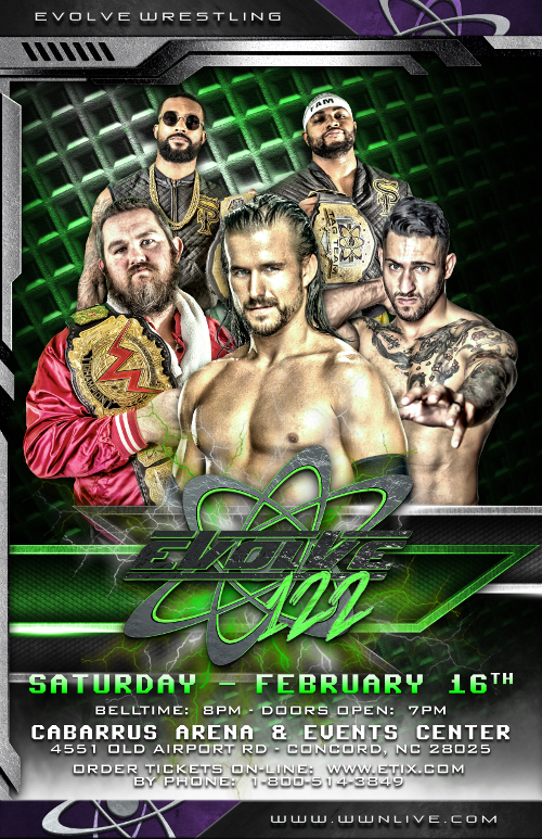 EVOLVE 122 Complete Card!