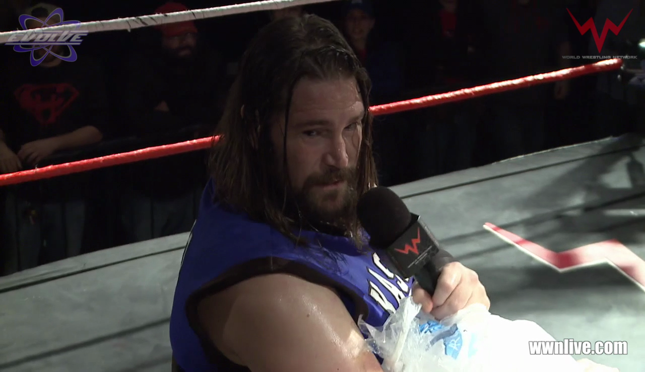 EVOLVE 118 - Kassius Ohno With A Challenge For Indie Wrestlers (2018-12-31) thumbnail