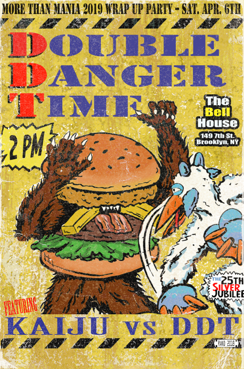 Kaiju Big Battel - Double Danger Time (2019-04-06)