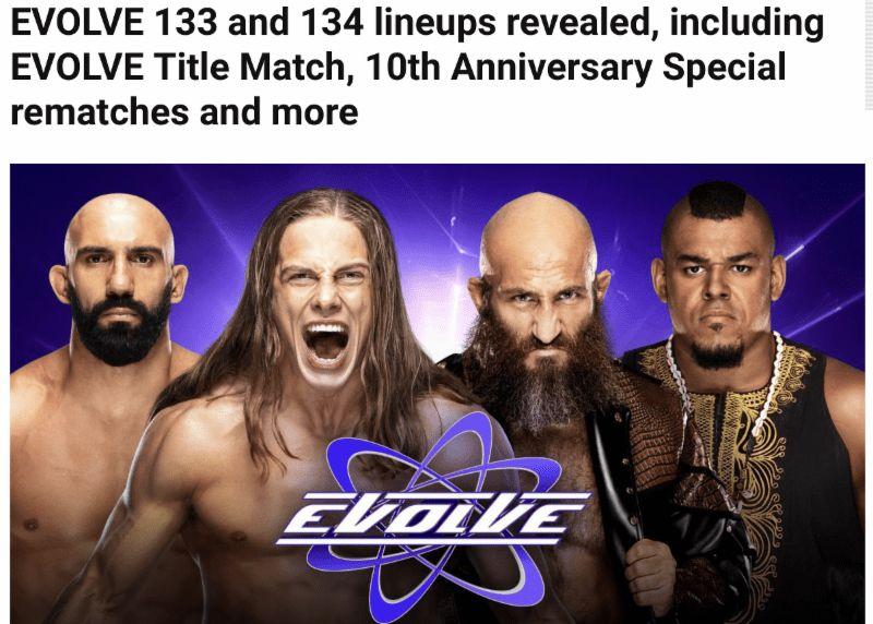 EVOLVE Wrestling - WWNLIVE