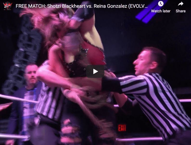 FREE MATCH - EVOLVE 139 - Shotzi Blackheart vs. Reina Gonzalez thumbnail website